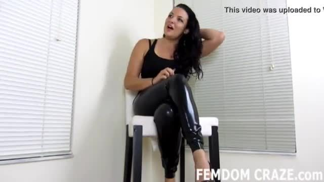 I will train your ass before you take a real cock