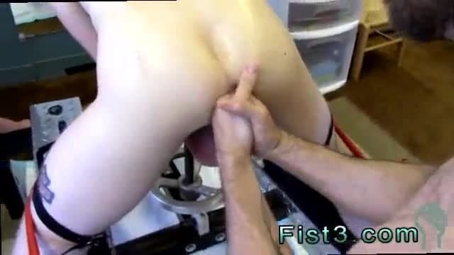 Old men fist gay porno First Time Saline Injection for Caleb